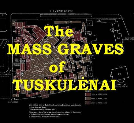 Mass Graves of Tuskulenai (map)