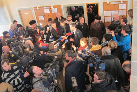 Algirdas Paleckis after hearing 22 Jan 2013