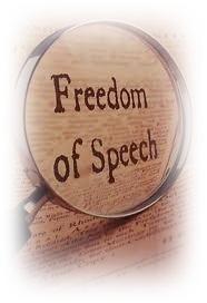 Free speech icon