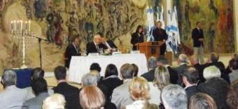 JOHN MANN MP HONORED AT KNESSET