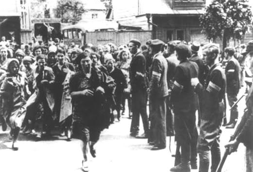white armbanders kaunas 1941