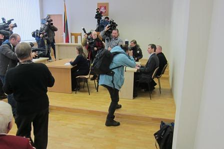 Algirdas Paleckis before hearing 22 Jan 2013