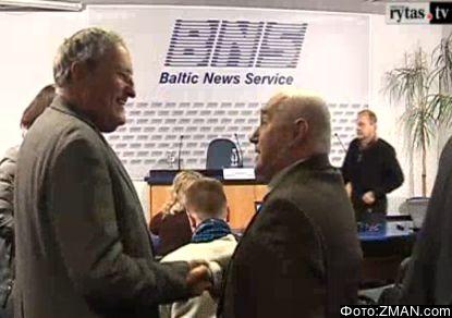 Zuroff and Fridberg on 15 Feb 2013 Vilniu