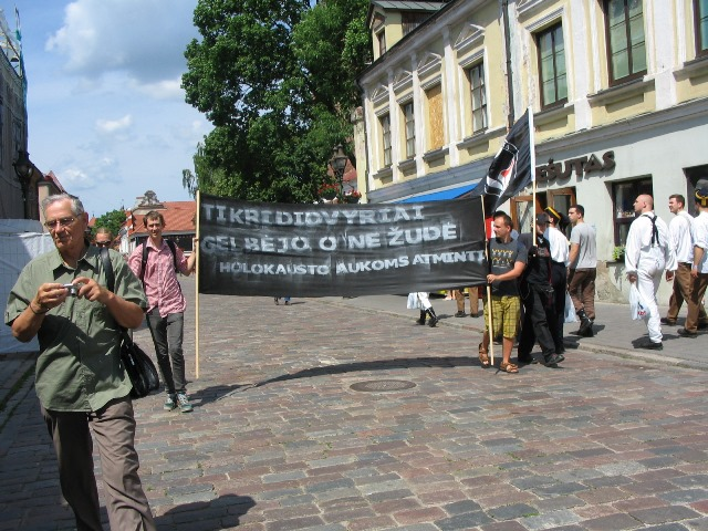 Kaunas anti fascists 23 June 2013