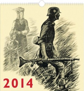 In the capital of European culture? Waffen SS Calendar (Riga 2014)