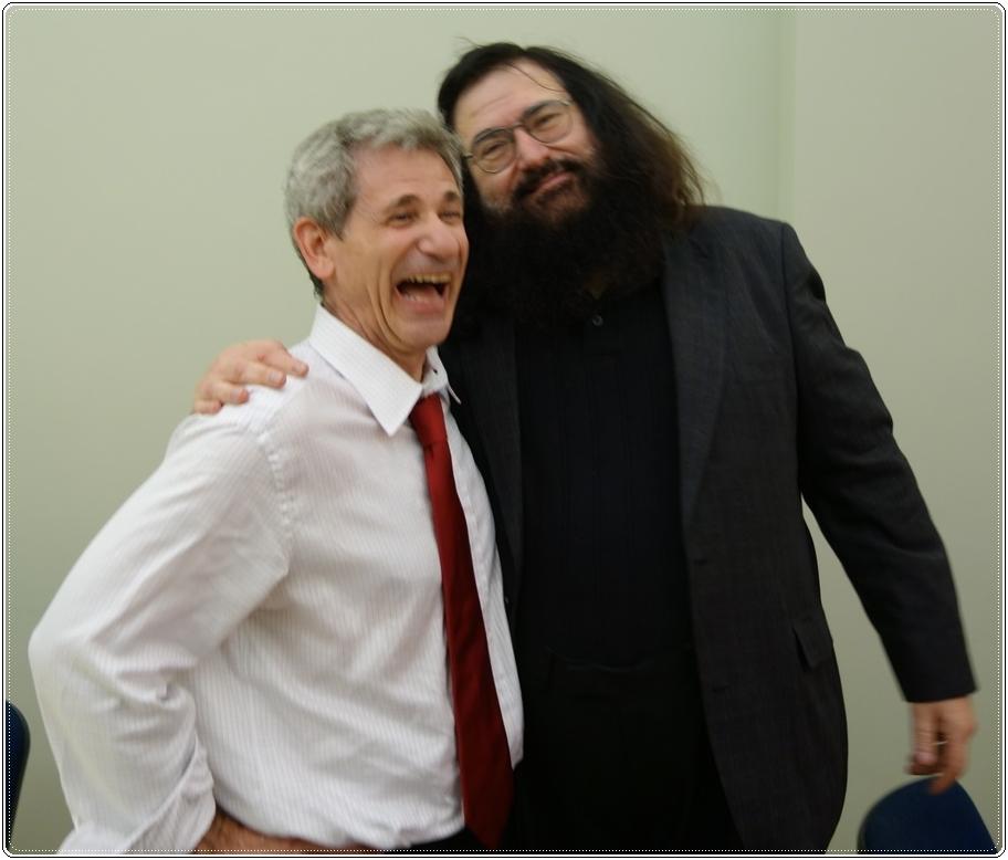 JONATHAN BRENT AND DOVID KATZ IN VILNIUS