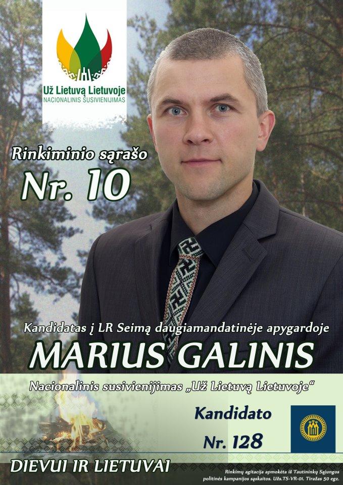 Marius-Galinis campaign-poster