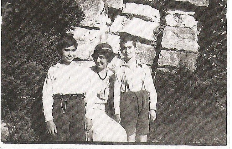 photos of Marianne Peiser, Ernest and Paul